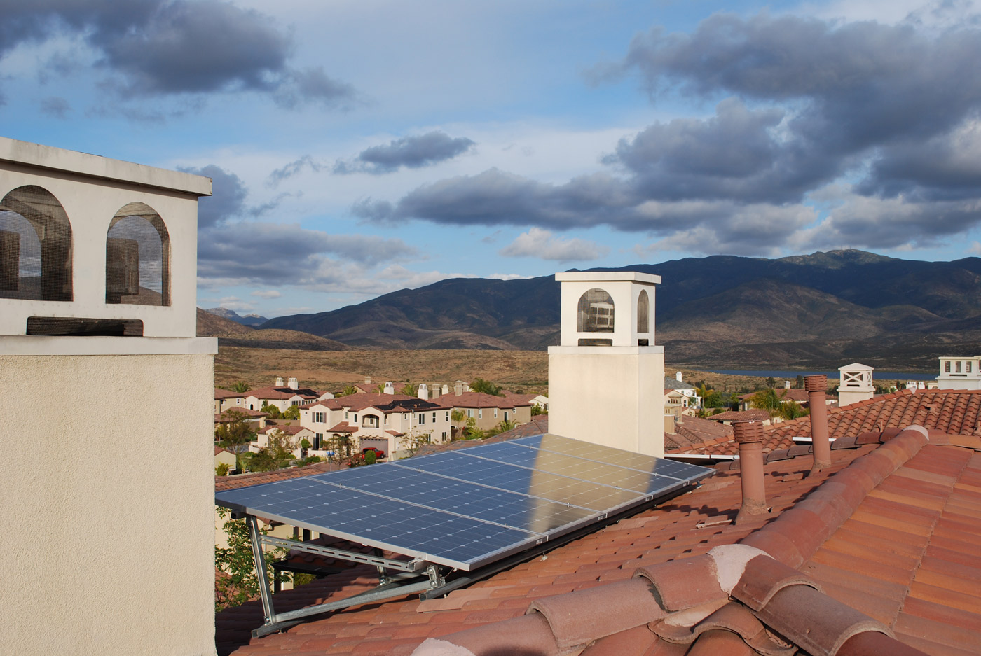 san diego home installation example from solare energy
