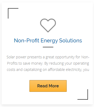 non profit energy solutions by solare energy in san diego california