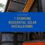 Stunning Residential Solar Installations